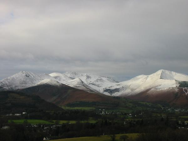 The north western fells from the ascent
