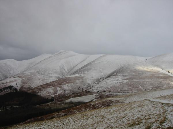 Skiddaw and Little Man from the ascent