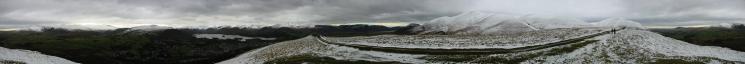 360 Panorama from Latrigg's summit