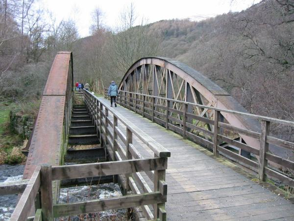 One of the many railway bridges