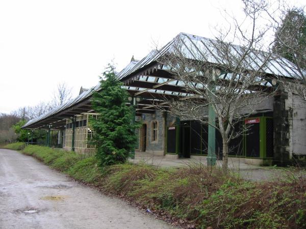 The old Keswick Railway Station