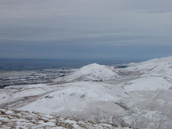 Dufton Pike to the north from Murton Pike summit