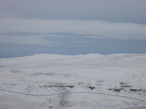 ...and zooming in on Cross Fell, Little Dun Fell and Great Dun