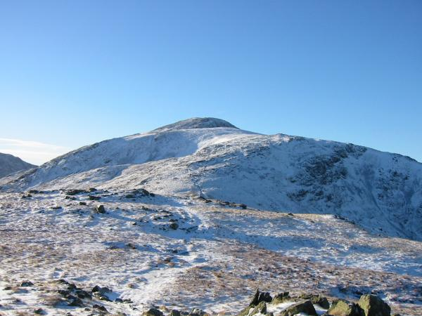 Green Gable and the top of Great Gable