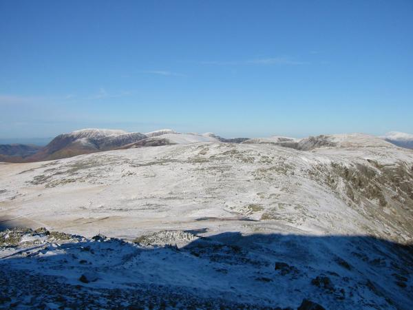 Looking north to Brandreth