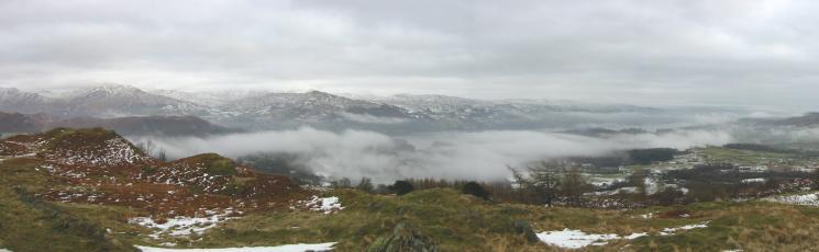 Mist over Windermere