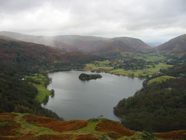 Grasmere from the descent