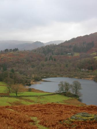 Rydal Water and Helm Crag