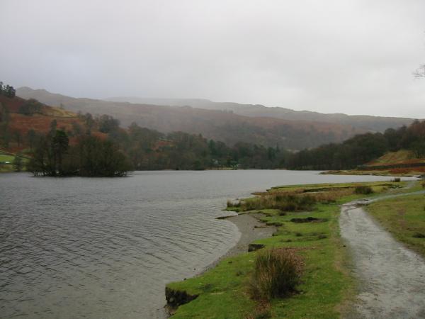 Rydal Water shoreline