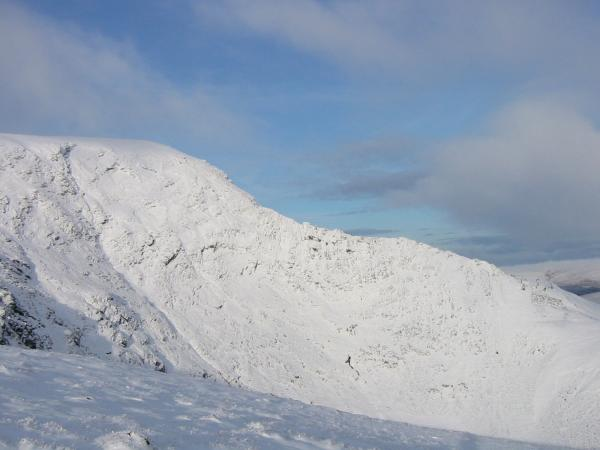 Looking across to Sharp Edge