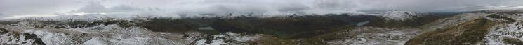 360 Panorama from Angletarn Pikes' summit