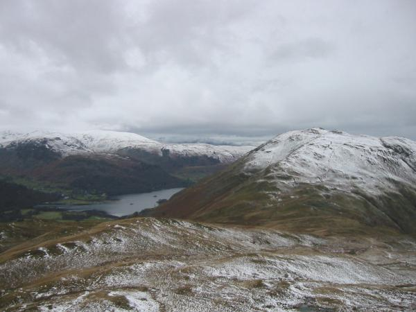 Ullswater and Place Fell from Angletarn Pikes' northern and higher top