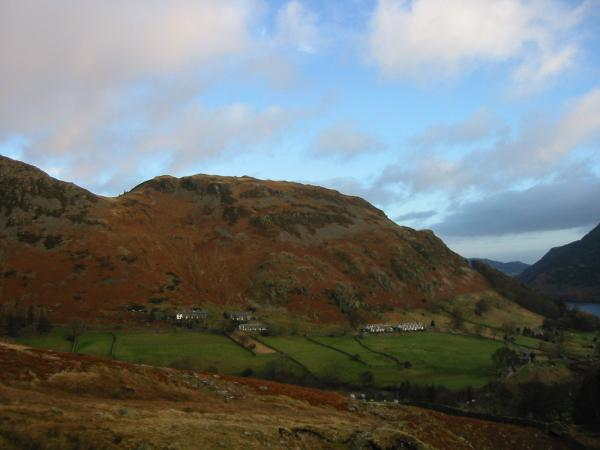 Glenridding Dodd from the Mires Beck path