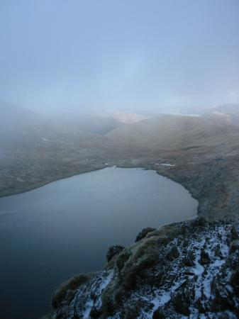 Red Tarn from Striding Edge