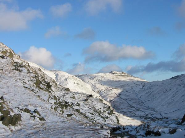 Little Hart Crag and the head of Scandale