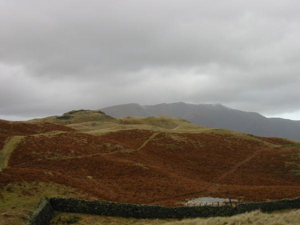 High Rigg's summit with Blencathra beyond