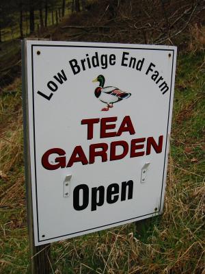 Teas at Low Bridge End Farm