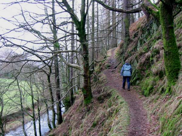 The path above St John's Beck