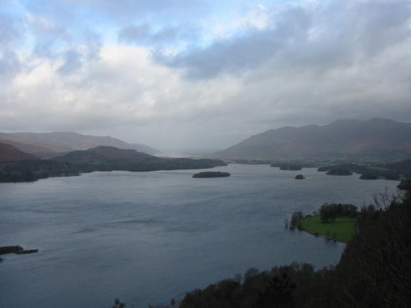 Derwent Water and Skiddaw from Surprise View