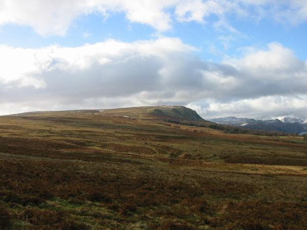 Arthur's Pike from Moor Divock