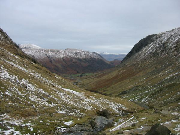 Looking north back down Grains Gill