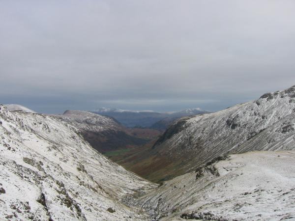 ...and again from higher up with Skiddaw and Blencathra in the distance