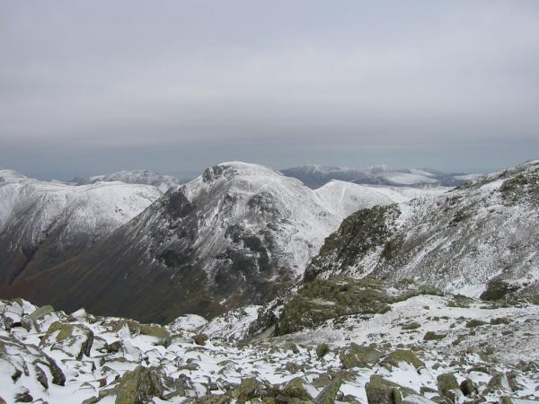 Great Gable from Ill Crag