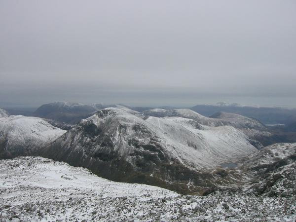 Great Gable from the summit