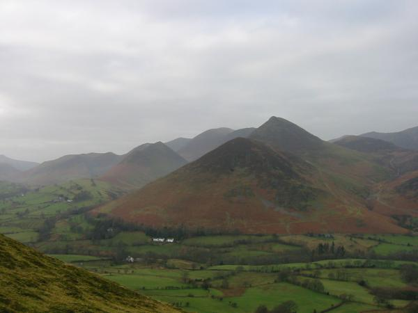 Rowling End and Causey Pike