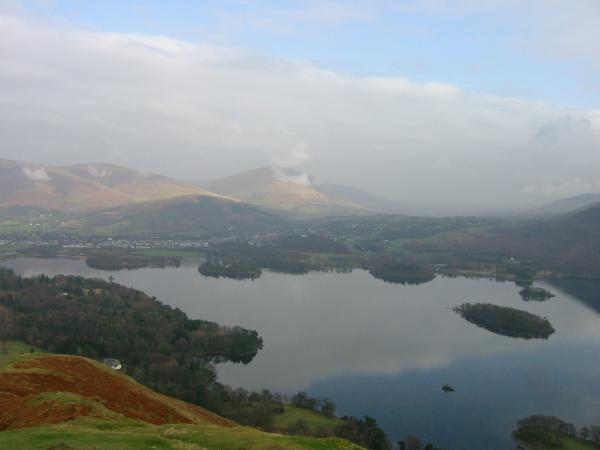 Keswick and Derwent Water from Catbells