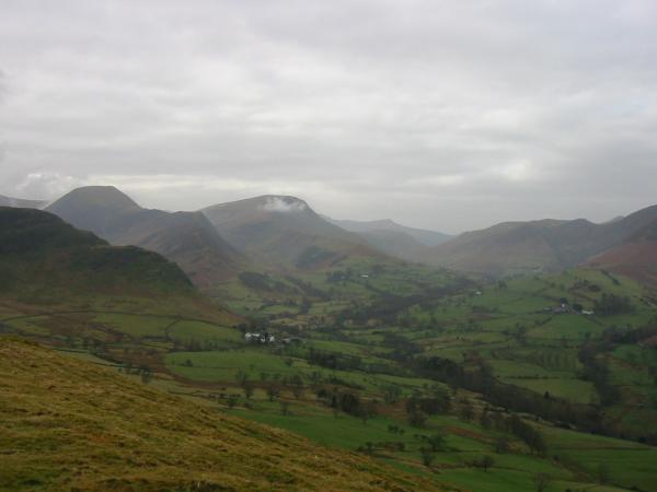 Hindscarth, Robinson and Newlands valley