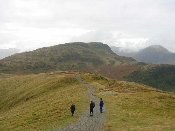 Maiden Moor from near Catbells summit