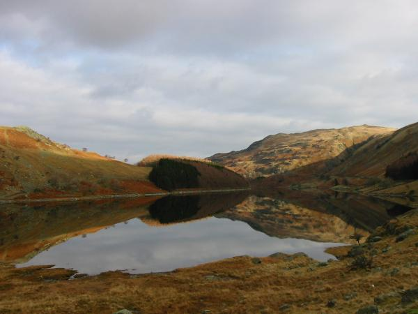 Haweswater from Mardale Head car park where we started our walk