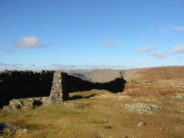 Kentmere Pike's trig point