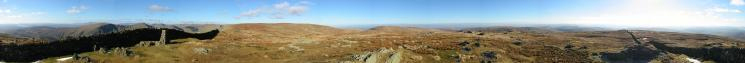 360 Panorama from Kentmere Pike's summit