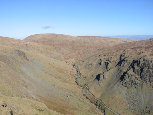 'Upper' Longsleddale and Branstree from Goat Scar