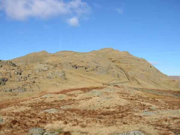 Looking back to Shipman Knotts from the descent to the Stile End - Sadgill 'Pass'