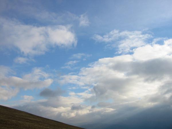 a blue sky moment