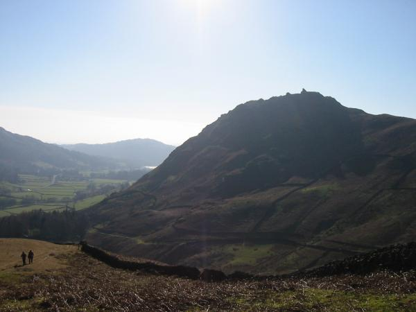 Helm Crag from the ridge