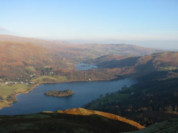 Grasmere and Rydal Water from Silver How