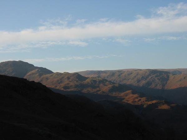 Tarn Crag's east ridge