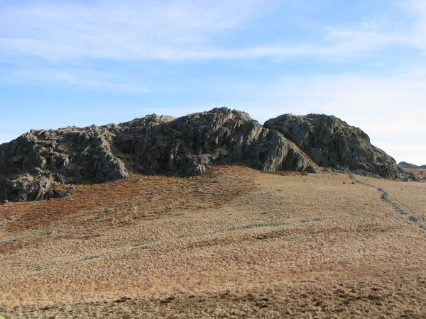 Great Crag from Little Crag
