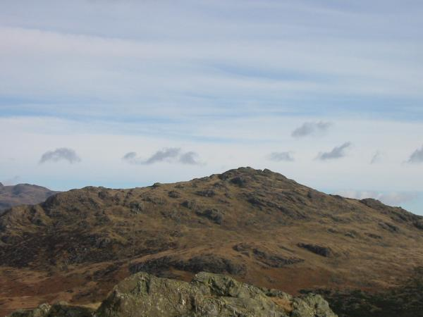 Harter Fell from Green Crag summit