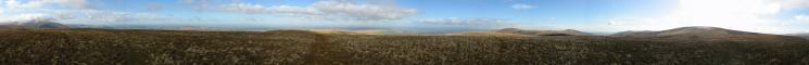 360 Panorama from Great Sca Fell's summit