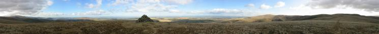 360 Panorama from Brae Fell's summit