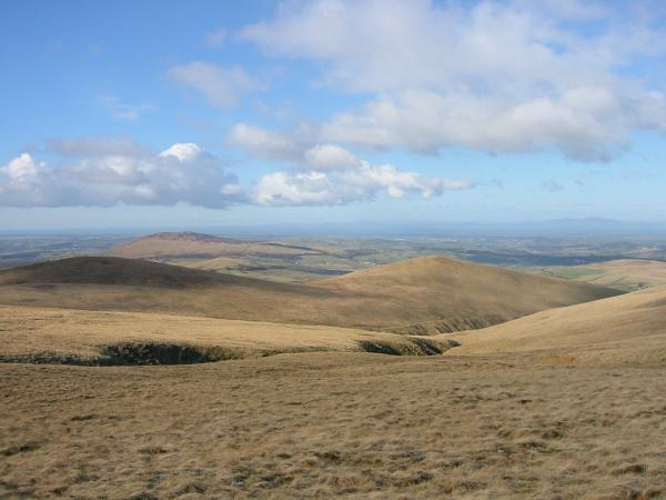 Lowthwaite Fell and Longlands Fell with Binsey behind