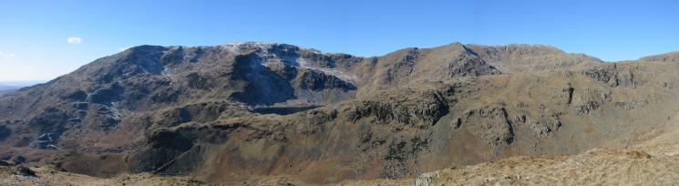 Coniston Old Man, Brim Fell and Swirl How