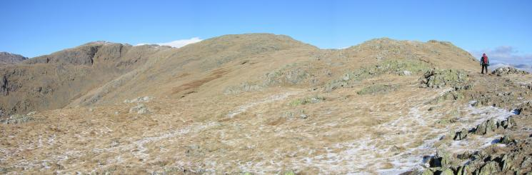 Black Sails and the Lad Stones ridge onto Wetherlam's summit