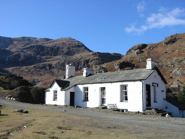The old Mine Office and Manger's House, now a Youth Hostel