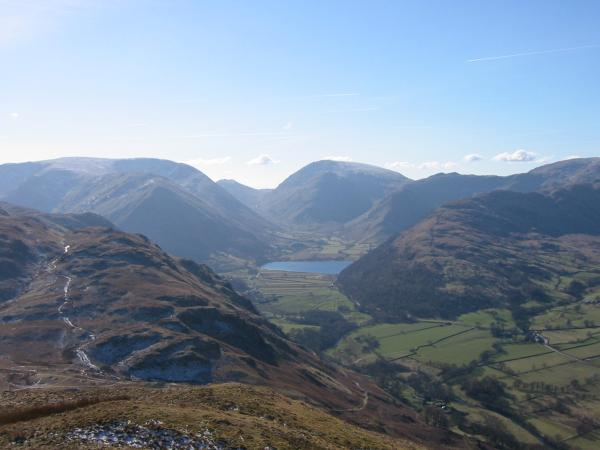 Brothers Water and Red Screes